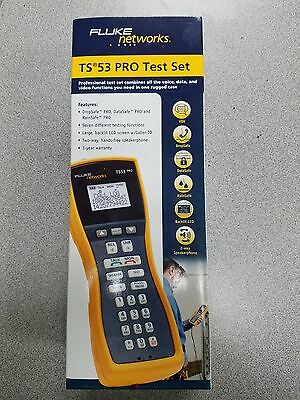 Fluke networks TS53 PRO Test Set, Lineman Handset, Butt Set