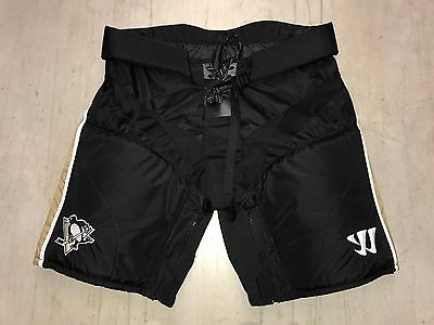 New! Warrior Covert Pittsburgh Penguins NHL Pro Stock Hockey Player Pants Lowers