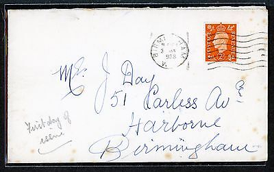 GB FIRST DAY COVER 1938 2d ORANGE 31 JAN SG #465