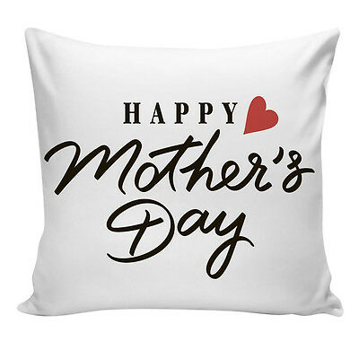 Happy Mother's Day Sofa Bed Home Decoration Festival Pillow Case Cushion Cover
