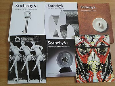 Sotheby's Auction Catalogs ;decorative Arts And Design Themes