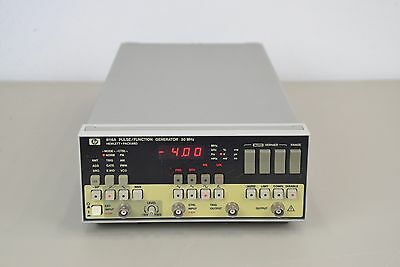 HP Hewlett Packard 8116A Pulse/Function Generator  50 MHz