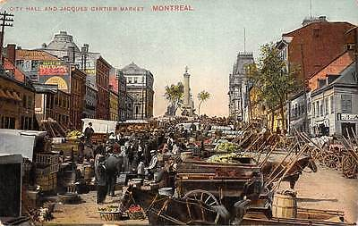 Canada Montreal, City Hall and Jacques Cartier Market, Commerce