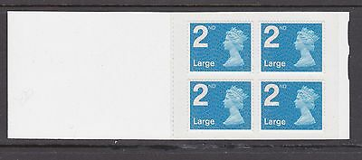 Gb Booklet Stamps - Unmounted Mint - 4 Second Class Large Stamps - Sg 2656