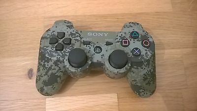 SONY PS3 Controller Dualshock 3 Sixaxis urban camo wie neu original Game Pad TOP
