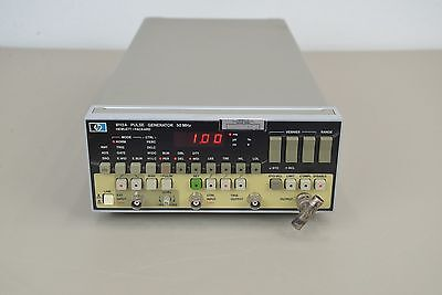 HP Hewlett Packard 8112A Pulse Generator  50 MHz