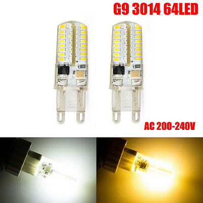 10X G9 5W 3014 64 LEDs Capsule Bulb Replace Halogen Light Bulb Lamps AC 200-240V