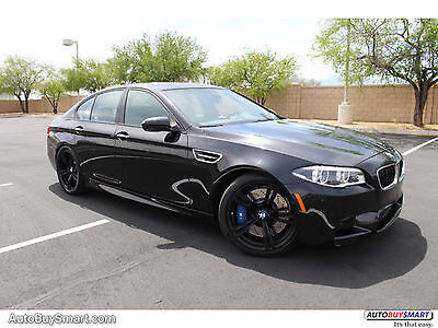 2015 BMW M5 Base 2015 Black M5 Competition! Drivers Asst Plus! B&O! Must SEE!