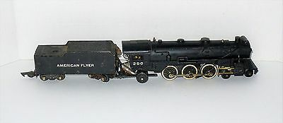 AMERICAN FLYER S GAUGE No.290 4-6-2 STEAM  LOCOMOTIVE TRAIN TENDER PARTS ANTIQUE