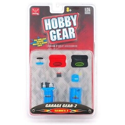 Hobby Gear Garage Gear-2 Series 1 1:24 Scale by Phoenix Toys. Free Delivery