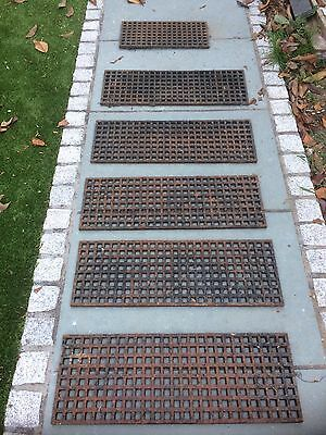 Cast iron floor grilles grills grid heating covers bundle