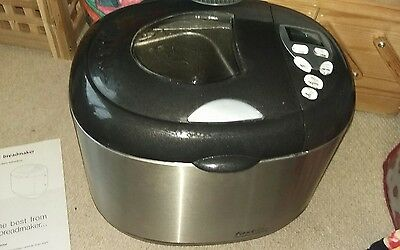 Morphy Richards stainless steel bread maker