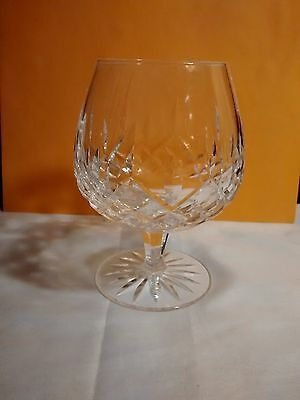 Waterford Crystal Lismore Brandy Snifter Glass Signed Bottom 5 1/4''