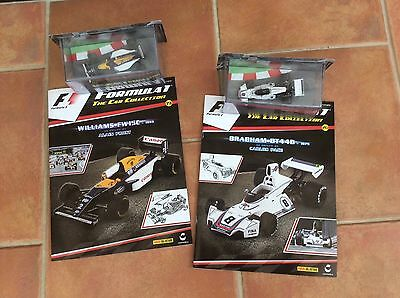 Formula 1 replica cars from F1 The car collection by Panini