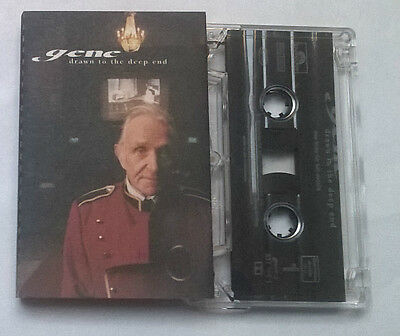 Gene * Drawn To The Deep End * Rare 12 Track Cassette 1997