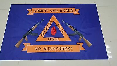 Protestant Action Force Ulster Loyalist 3 X 5Ft Flag