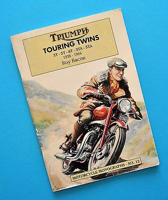 1938-66 Triumph Motorcycle Book 3T 5T 6T Thunderbird 5TA Speed Twin 3TA