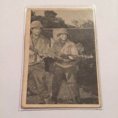 1963 Topps COMBAT Collectible Trading Card Series 1, 1-66 #25 Clearing The Way