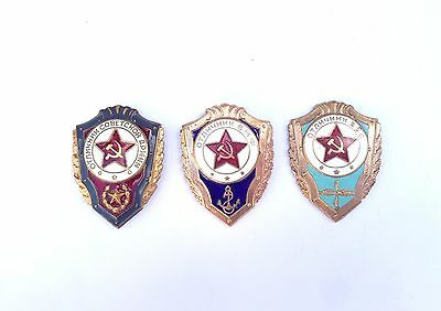 100% Original! Soviet Badges Excellent СА ВМФ ВВС USSR