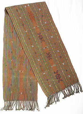 CEREMONIAL TIMOR TRIBAL SHOULDERCLOTH TEXTILE INSANA DISTRICT no ikat