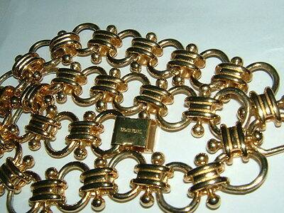 ERWIN PEARL GOLD TONE CHOKER  NeCKLACE  vintage