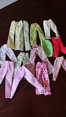 Barbie, skipper? and other dolls summer trousers clothes, outfits  bundle