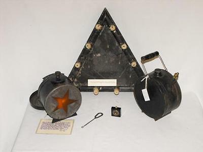 """Rare 1880's """"Order of the Eastern Star"""" ceremonial pieces !"""
