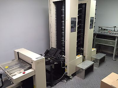 DUPLO DC10000S Collators (Two towers) With Cover Inserter and Stacker
