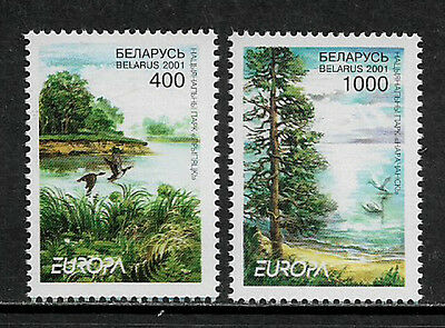 Belarus 388-9 Mint Never Hinged Set - 2001 Europa