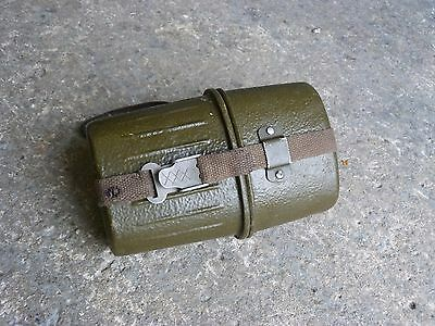 Vintage German Cold War Era Aluminium Canteen