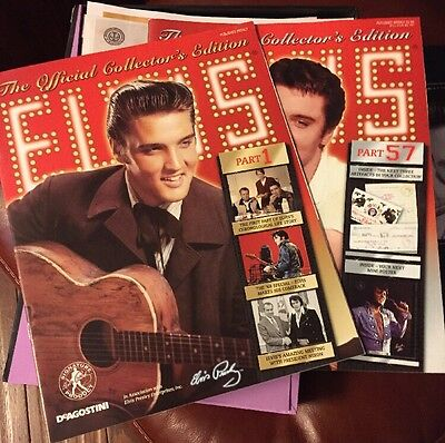 Elvis: The Official Collector's Edition, Parts 1-57