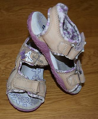 Girls  Leather Sandals Size 8