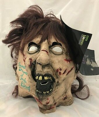 Linda Blair Signed Autographed Regan The Exorcist Mask JSA Authenticated Green