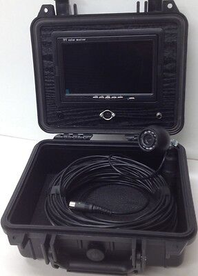 "CHIMNEY INSPECTION CAMERA (CCTV) and 7"" TFT Screen (£200+vat)"