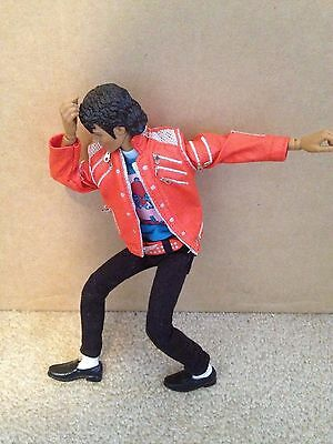 Michael Jackson Beat It Figure Doll