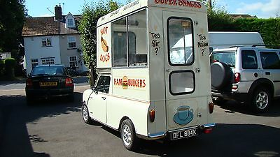 classic mini pickup/burger van 1972
