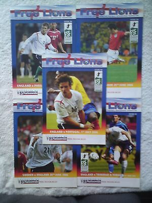 Free Lions England 2006 World Cup 5 issues