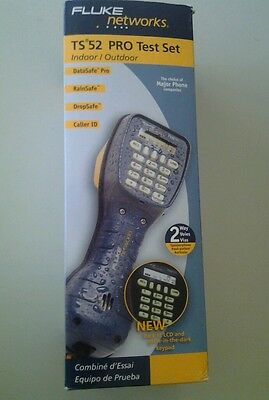 Nib Fluke Ts52 Telephone Butt Set Adsl Safe - Ships Worldwide