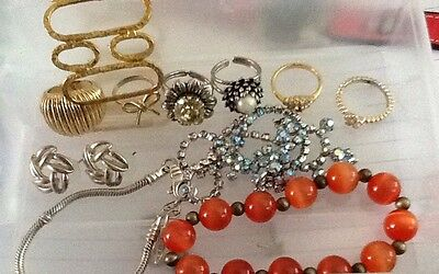 Mixed Lot Of Costume Jewellery