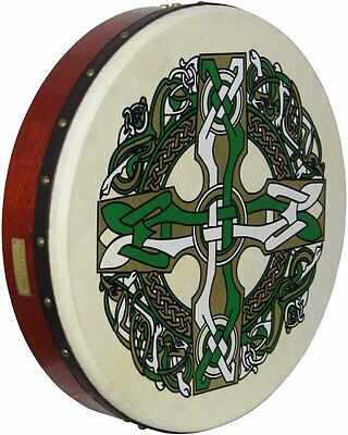 Waltons Bodhran Drum - Celtic Cross