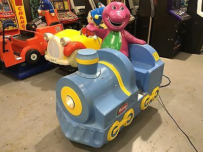 Coin Operated Barney Kiddie Ride