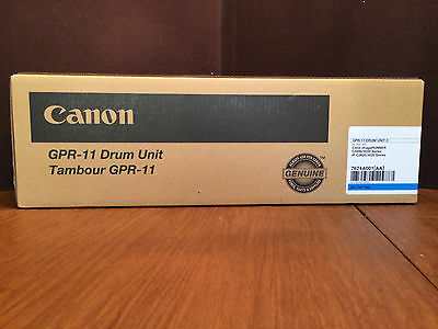 CANON GPR-11 GPR11 DRUM UNIT Cyan 7624A001AA C3200 C3220 Factory Sealed