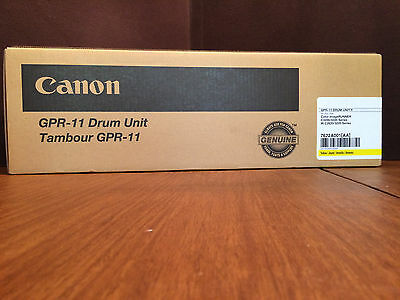 CANON GPR11 DRUM UNIT Yellow 7622A001AA C3200 C3220 Factory Sealed