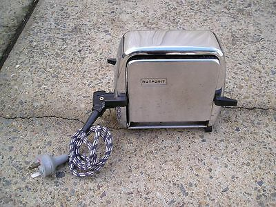 VINTAGE RETRO Design HOTPOINT TOASTER Kitchenalia Collectable Mid Century ART DE