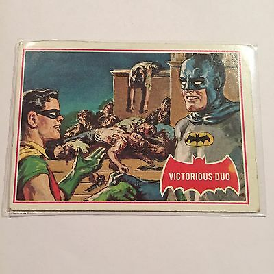 SCANLENS 1966 BATMAN CARD #28A Vicious Duo Joker Puzzle