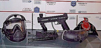 Tippmann 98 Custom ACT paintball marker with accessories *see picture's*