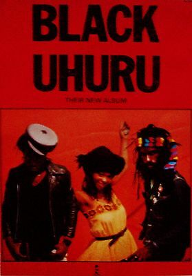 Black Uhuru *1991 Rare Original Island Records Poster*  Pop Reggae Ska
