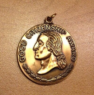 Good Citizenship Award Medal Daughters Of The American Revolution