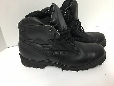 Mens Thorogood Black Work Boots 834-6661 Shoes Size 10 M