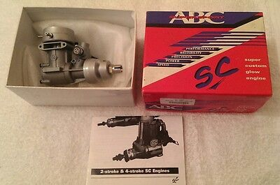 SC 40M Nitro Marine Model Engine for Boats .40 size
